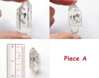 Large Herkimer Diamond Double Terminated Loose Stone Good for metaphysical use One Piece Many to choose from F3084
