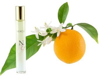 NEROLI Perfume Oil--Orange Blossom Perfume--Floral Perfume Oil--Neroli Perfume for Women