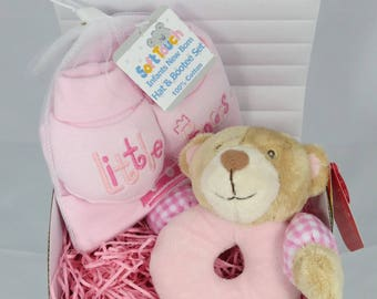 Baby Treasure Chest Ring Rattle Gift Set