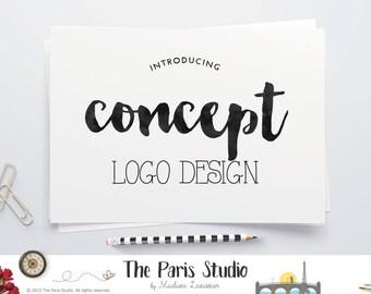 Concept Logo Design Custom Logo Design From existing premade logo concept wedding monogram logo design wordpress blog logo website logo