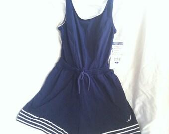 Vintage Style Jantzen Bathing Suit size 8 NWT