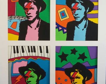 David Bowie Portrait Painting