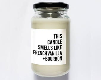 French Vanilla + Bourbon Soy Candle