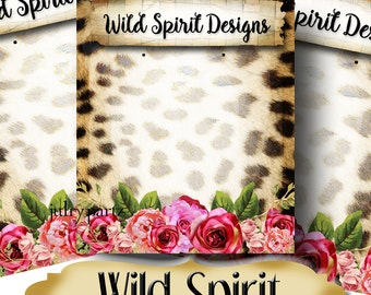 WILD SPIRIT•Custom Tags•Labels•Earring Display•Clothing Tags•Custom •Boutique Card•Tags•Custom Tags•Custom Labels