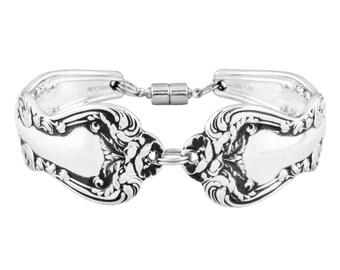 Spoon bracelet, Orient, Silver spoon jewelry, Vintage bracelet, Spoon Jewelry, Silver bracelet, Handmade bracelet, Silver Spoon Bracelet