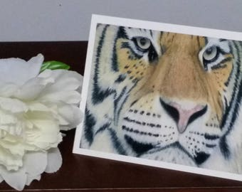 Fine Art Print Greeting Card - Deep in Thought