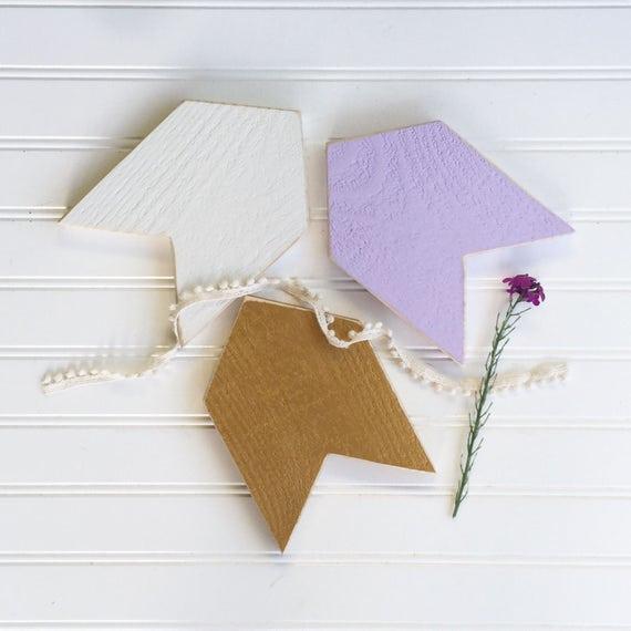 Girls Woodland Nursery . Nursery Arrows . Lavender Nursery . Arrow Nursery . Lavender Gold . Baby Girl Nursery . Arrow Set  . Chevron Arrows