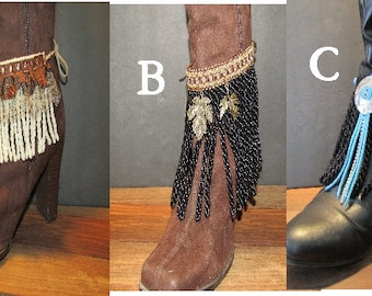 Anklets / Boot wrap cuffs