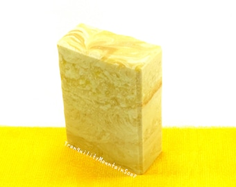 Cold Process Soap Handmade Soap Mothers Day Gift For Her Artisan Soap Floral Soap Musk Soap Glitter Soap Tranquility Mountain GOLDEN GODDESS