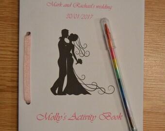 Personalised Kid's Wedding Activity Packs