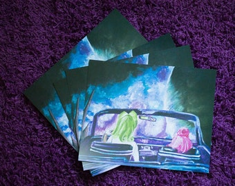 8x10 matte cardstock art print - Where do we go from here?