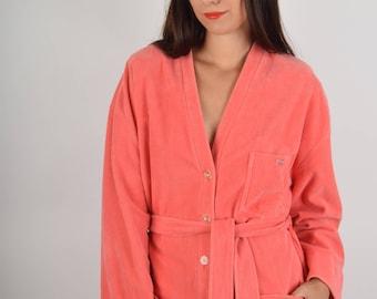 RARE Sonia Rykiel Fluffy Kimono Made in France XL (844)