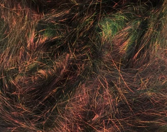 Angelina Fiber-Spinning Fiber-Sparkle Fiber-Sparkle-Forest Blaze