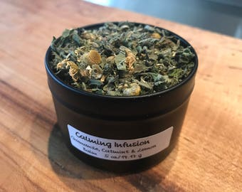 Organically Grown Calming Infusion Tea Blend from No. 9 Farms