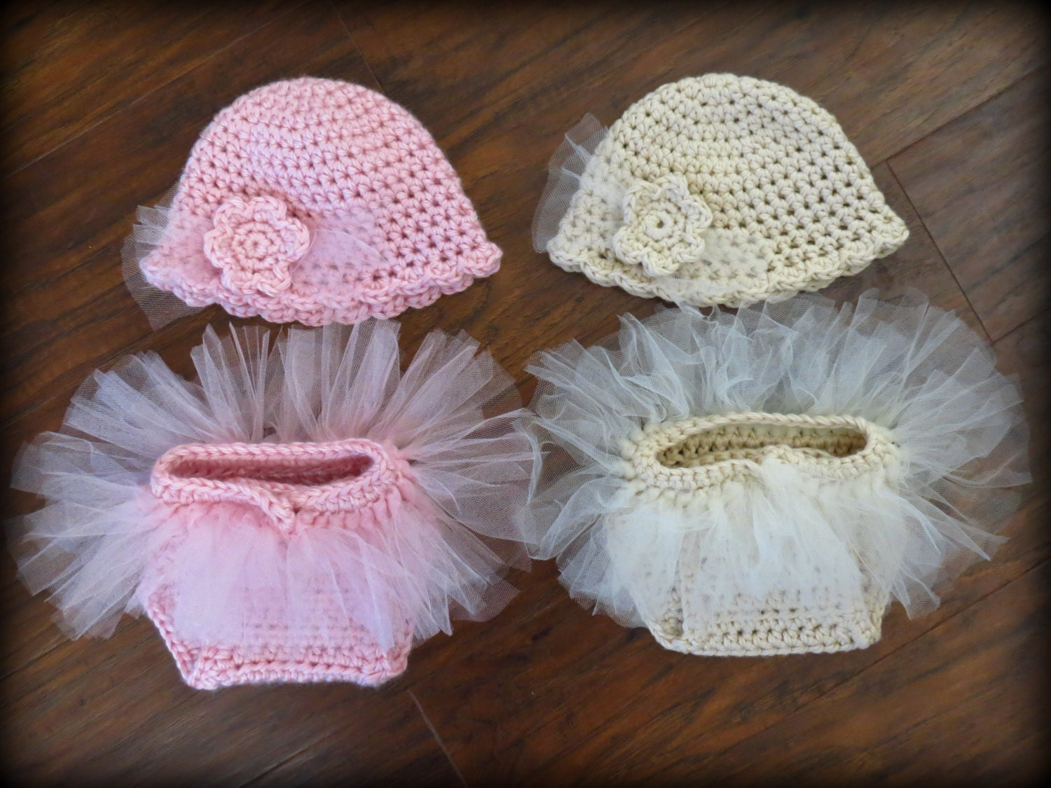 Newborn Baby Photo Prop - Crochet Diaper Cover Pattern - Hat Pattern ...