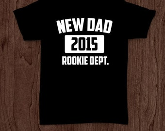 New dad t-shirt tee shirt tshirt Christmas dad father daddy family fun father's day grandfather family gift for dad best dad top dad to be