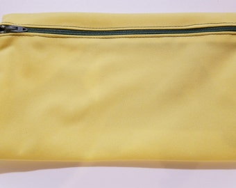 Small Wet Bag yellow w/ Hello Kitty tag