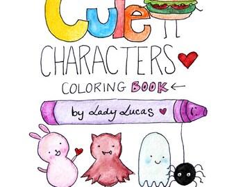 Cute Coloring Book