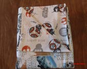 Star Wars The Last Jedi Two sided Baby Blanket 100% cotton 43 X 37.5 inches