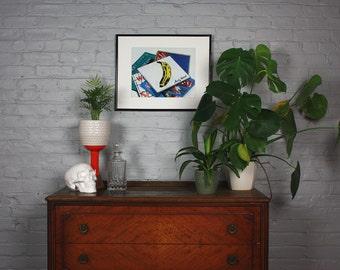 Vinyl Pile 1 Art Print