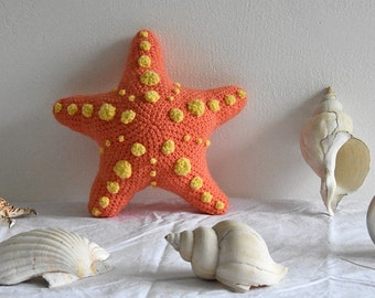 Starfish Crochet Pattern, Starfish Amigurumi Pattern, Sea Star Crochet Pattern, Sea Star Amigurumi Pattern, Tropical Fish Amigurumi Pattern