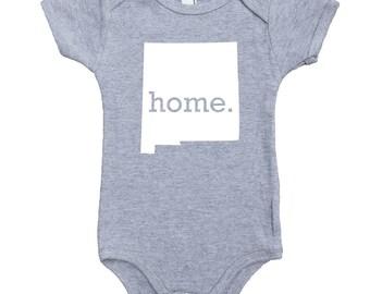 Homeland Tees New Mexico Home Unisex Baby Bodysuit