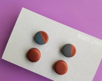 Polymer Clay Mini Studs #1
