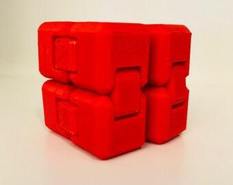 Single Color Fidget Cube - Fidget Toy - Infinity Cube - Fidget Widget - Stress Relief - 3D Printed - Fidget - Fidget Box