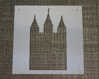 Metal Sign: Salt Lake Temple