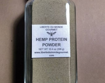 Hemp Protein Powder in a Variety of Sizes and Packaging