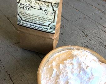 Organic Wheat Starch - For Hair Powder