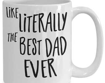 Best dad mug - funny coffee cup for awesome fathers