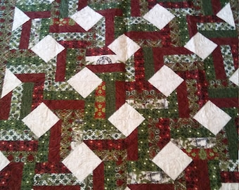 "Christmas Quilt - Jason Yenter - Winter Wonderland - In The Beginning Fabrics 54"" by 62"""