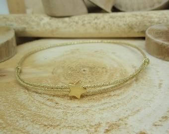 """Le bracelet """"Estrella"""" doré"""