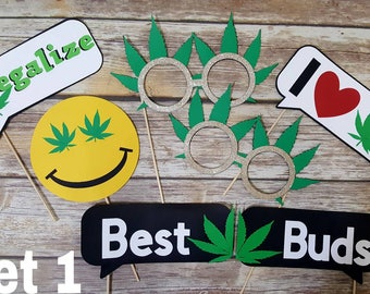 420 photobooth props