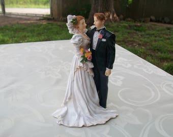 Wedding Cake Topper, Figurines De Marriage, French Vintage, Wedding Cake Ornament, Rustic, Vintage, Retro