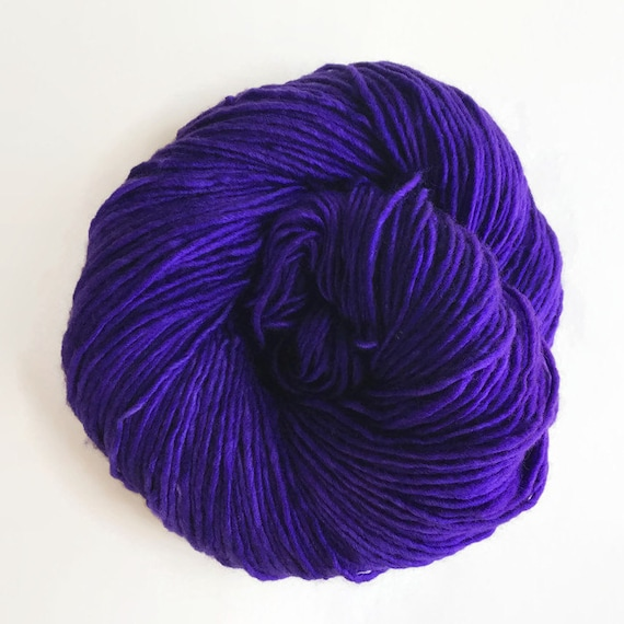 GRAPE hand dyed yarn