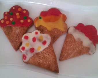 Canine Cone Cookies