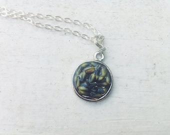 Lavender Buds Necklace