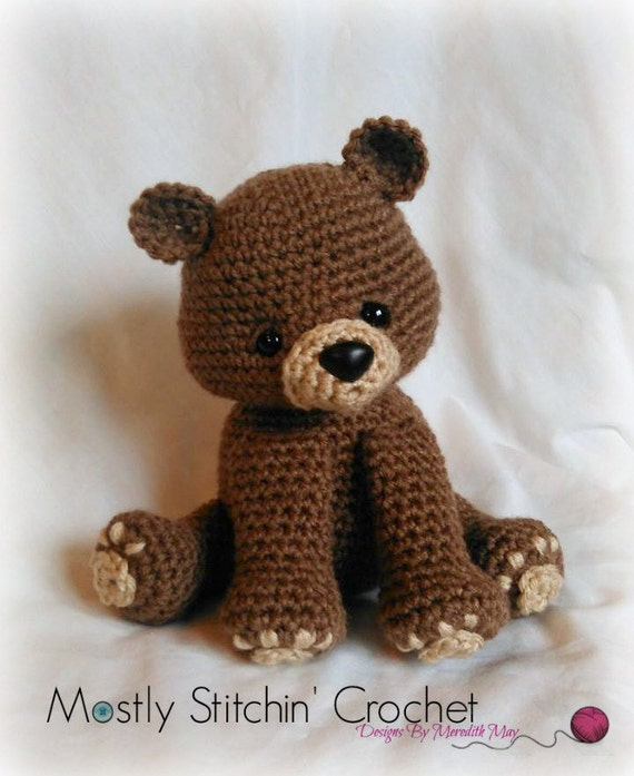 Bear crochet pattern pdf black bear brown bear polar bear bear crochet pattern pdf black bear brown bear polar bear dt1010fo