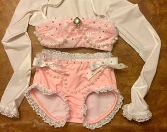 Pink Dance Costume- Lacie
