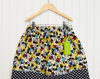 Mickey Mouse Banner Skirt (Size XX-Large)