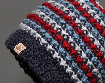 CROCHET HAT PATTERN Brookside Beanie Pattern Crochet Beanie Pattern Crochet Pattern Crochet Patterns for Kids Crochet Beanie Pattern for Men