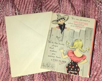 Vintage Valentine's Day Card Adult Humor Hallmark Cards NOS w/Envelope