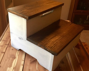 Farmhouse Step Stool