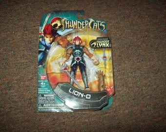 "2011 Thundercats 3.75"" Lion-O Figure NIP"