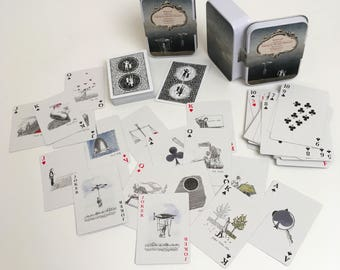 "Taking the World's Measure ₋ ""Double Deck"" Playing Card Set"