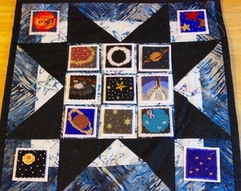 Bead-It-Forward Space Themed Quilt BIF23