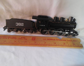 Roger (ho gauge) I.C.R.R. locomotive and Rivarossi (ho gauge)  382 tinder