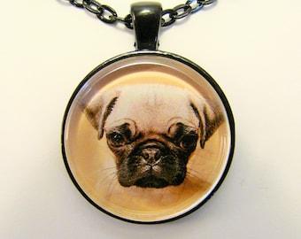 Mops Welpen Halsband--für Hund und Tier-Liebhaber